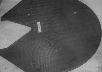 Modello per laminazione Flap Tail Cone