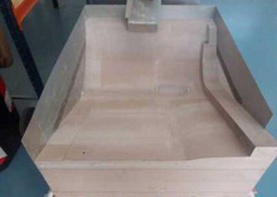 Mock-up del modello sedile aeronautico